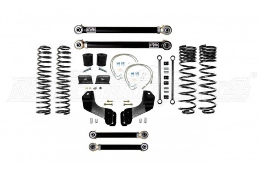 EVO Manufacturing 2.5in Enforcer Overland Lift Kit, Stage 3 (Part Number:3061S3)