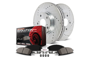 Power Stop Z23 Evolution Sport Brake Kit  (Part Number: )