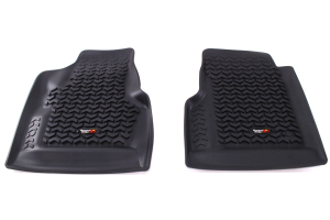 Rugged Ridge Front Floor Liner Black - LJ/TJ