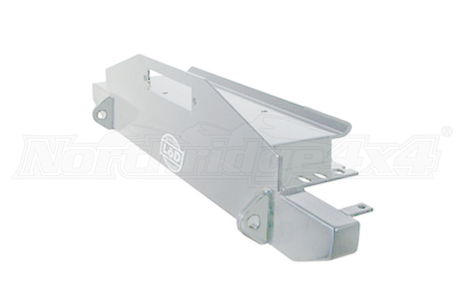 LOD Mid Width Front Winch Bumper Bare Steel (Part Number:JFB8765)