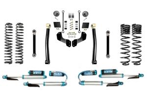 Evo Manufacturing 2.5in Enforcer Overland Stage 3 Lift Kit w/ Comp Adjuster Shocks - JT