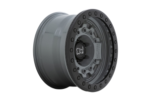 Black Rhino Avenger Beadlock Wheel, 17x8.5 5x5 - Battleship Gray - JT/JL/JK
