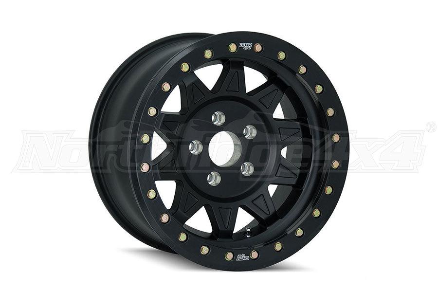 Wheel-1 Dirty Life Roadkill Race Series Beadlock Wheel Matte Black 17x9, 5x5 (Part Number:9302-7973MB14)
