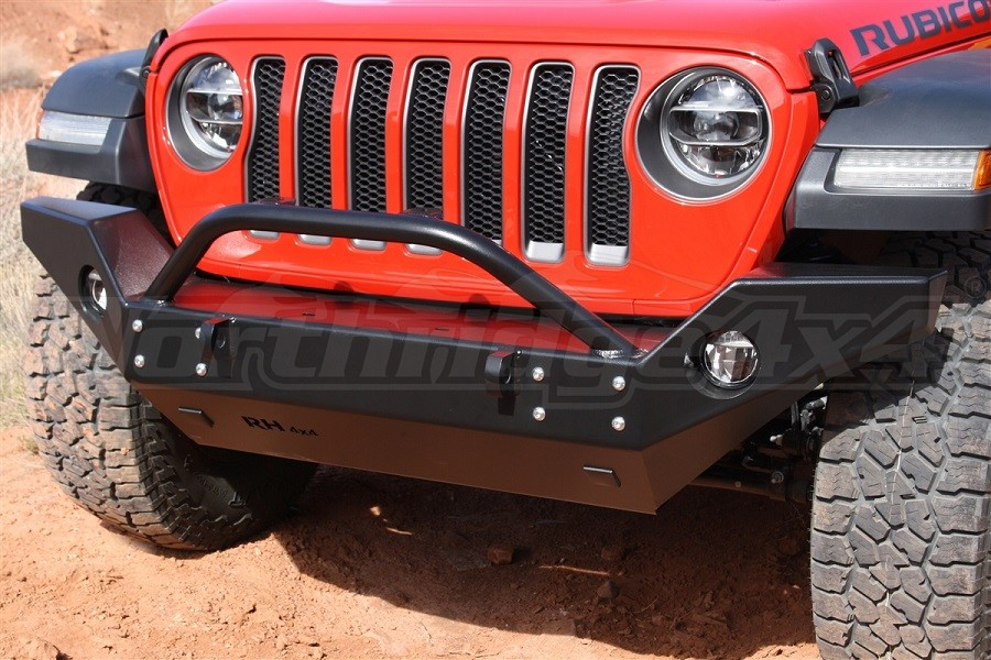 Rock Hard 4x4 Patriot Series Full Width Front Bumper, Aluminum (Part Number:RH-90244)