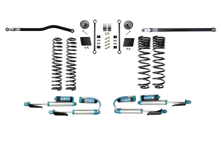 Evo Manufacturing 2.5in Enforcer Stage 1 PLUS Lift Kit w/ Comp Adjuster Shocks - JT