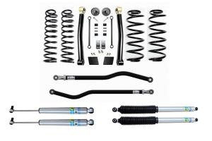 Evo Manufacturing 2.5in Enforcer Stage 2 PLUS Lift Kit w/ Bilstein Shocks - JL Diesel