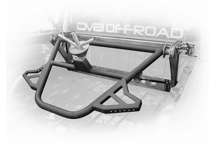 DV8 Offroad In-Bed Adjustable Tire Carrier  - JT