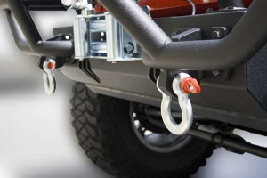 Rugged Ridge D-Rings Silver (Part Number: )