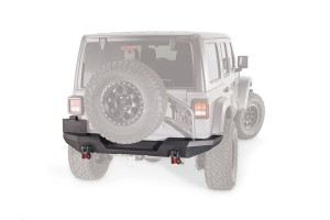 Warn Elite Series Rear Bumper - Not Compatible w/Tire Carrier - JL