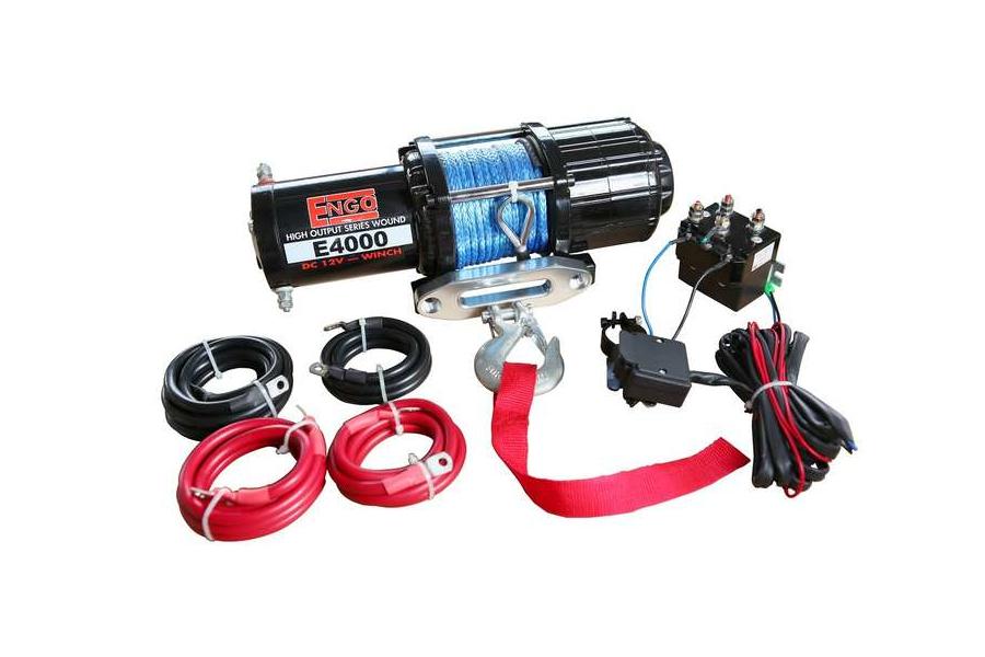 ENGO E4000 ATV Winch (Part Number:77A-04000-A)