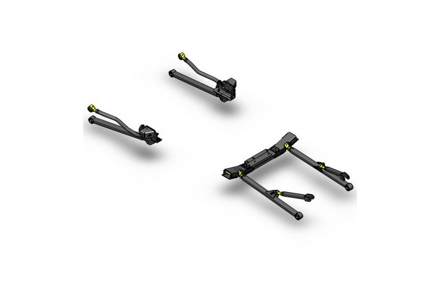 Clayton Long Arm Upgrade Kit - JK 2012+