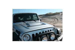 AEV Heat Reduction Hood w/Black Mesh - JK