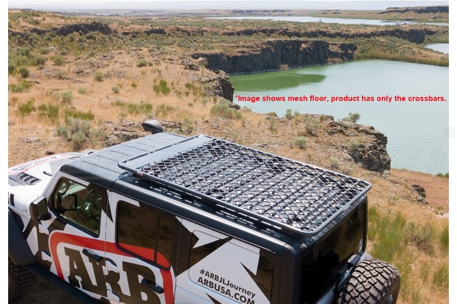 ARB Flat Roof Rack System, Steel - Non Mesh - JL 4Dr