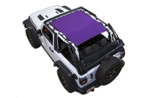 Spiderwebshade JL2D ShadeTop Purple (Part Number: )