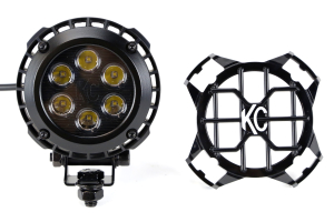 KC HiLiTES LZR 6 LED Black ( Part Number: 1300)