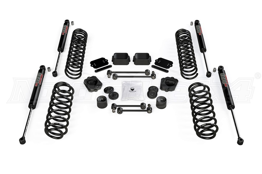 Teraflex 2.5in Coil Spring Base Lift Kit w/ 9550 VSS Shocks (Part Number:1354052)