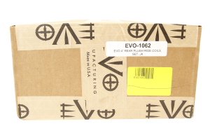 EVO Manufacturing Plush Ride Coil Springs Rear 4in Lift (Part Number: )