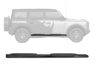 Go Rhino 4in OE Xtreme Side Step Kit - Black - Ford Bronco 4Dr