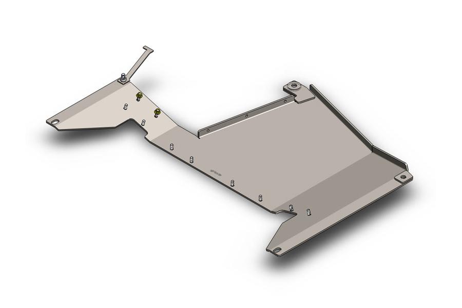 Clayton Transfer Case Skid Plate - JK 2012+