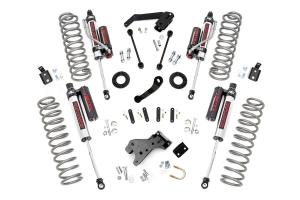 Rough Country Jeep Suspension 4in Lift Kit w/Vertex Shocks (Part Number: )
