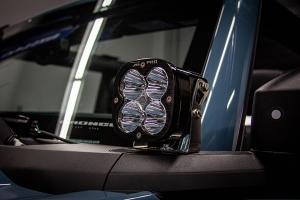 Baja Designs Squadron Pro Series A-Pillar Light Kit  - Bronco Sport