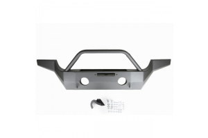 M.O.R.E. Full Width High-Clearance Front Bumper w/Tube Work (Part Number: )