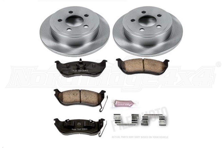 Power Stop Autospecialty OE Replacement Brake Kit, Rear  - TJ/LJ 2003-06