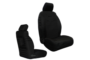 Bartact Front Seat Covers Non-Air Bag Compliant Black/Black (Part Number: )