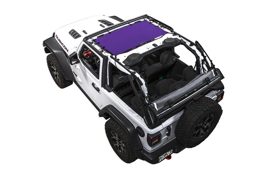 SpiderWebShade Bikini Top - Purple - JL 2Dr