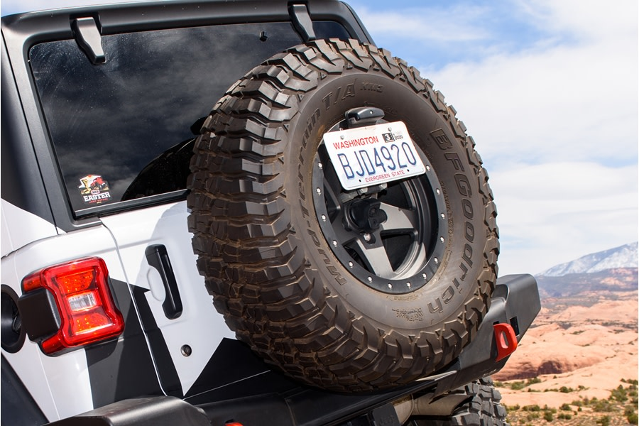 ARB License Plate Relocation Kit  - JL