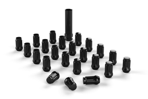 Teraflex Spline Drive Lug Nut Kit 1/2x20 Black - 23 PCS - JK/TJ/LJ/YJ/CJ