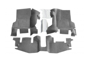 Bedrug BedTred Front Floor Kit - TJ/LJ