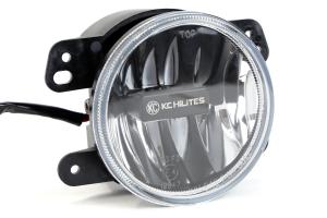 KC HiLites Gravity LED Fog Light Clear 4in (Part Number: )