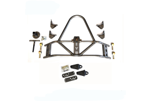 EVO Manufacturing Rear Tire Carrier and D-Ring Mounts Package (Part Number: )