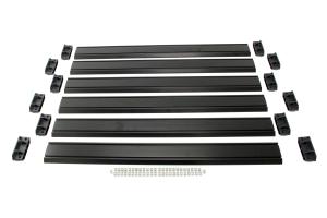 Teraflex Nebo Roof Rack Cargo Slat Kit - Black ( Part Number: 4722060)