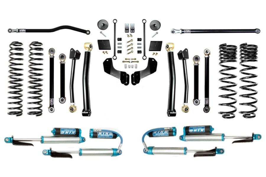 Evo Manufacturing 2.5in Enforcer Overland Plus Lift Kit w/ Comp Adjusters - JT
