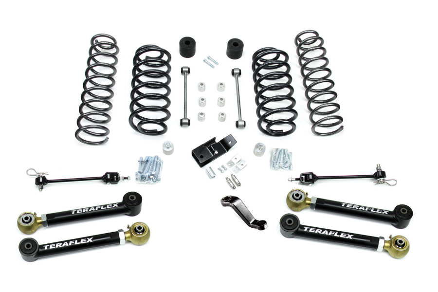 Teraflex 4in Lift Kit W/4 Lower Flexarms (Part Number:1456430)