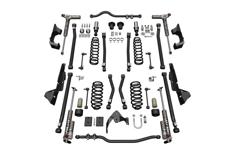 Teraflex 4in Alpine CT4 Suspension System w/3.3 Falcon Shocks (Part Number:1324033)