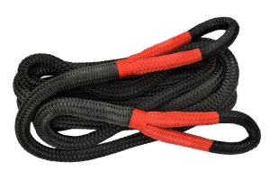 Overland Vehicle Systems Brute Kinetic Recovery Strap w/ Storage Bag - 1in x 30ft