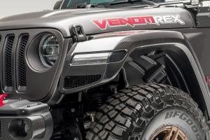 Venomrex JX Edition Aero Front Fenders  - JL