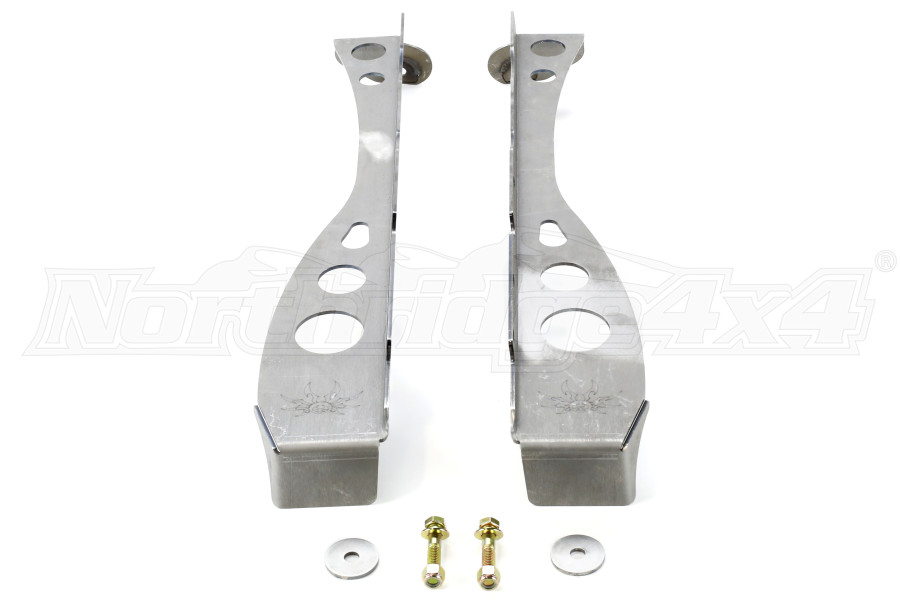 Poison Spyder A-Pillar Cage Kit Bare Steel ( Part Number: 14-18-011)