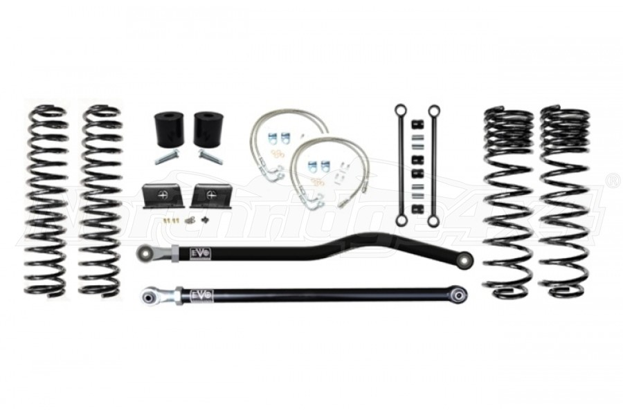 EVO Manufacturing 2.5in Enforcer Lift Kit, Stage 1 PLUS - JT