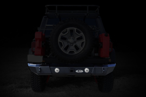 LOD Signature Series Rear Bumper w/Light Provision Black (Part Number: )