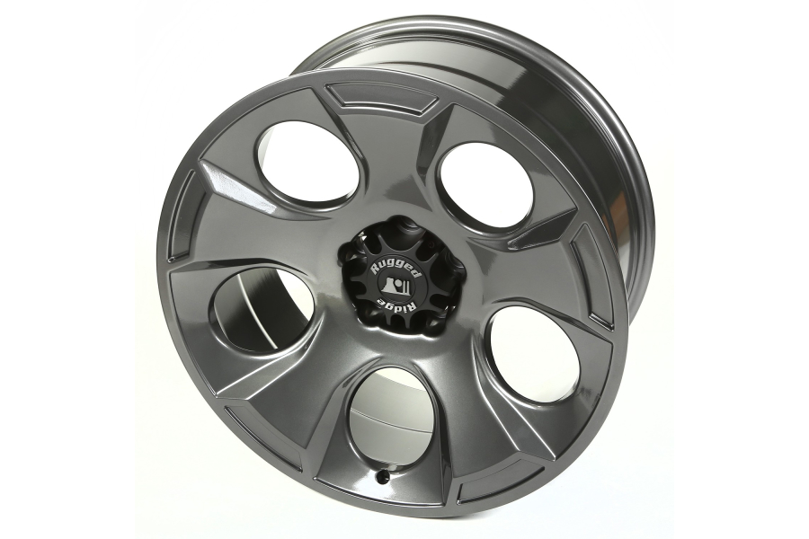Rugged Ridge Drakon Gun Metal Wheel, 20x9 5x5 (Part Number:15304.30)