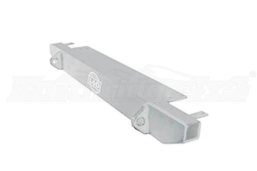 LOD Stubby Front Bumper Bare Steel (Part Number:JFB7640)