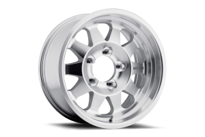 Method Race Wheel Series 101 Non-Beadlock Wheel Black w/Machined Lip 17x8.5, Blank Bolt Pattern (Part Number: )