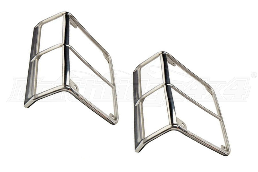 Smittybilt Stainless Steel Tail Light Guards (Part Number:8465)