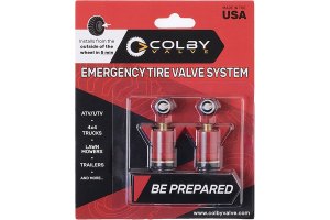 Colby Valve Emergency Valves Red 2-Pack (Part Number: )