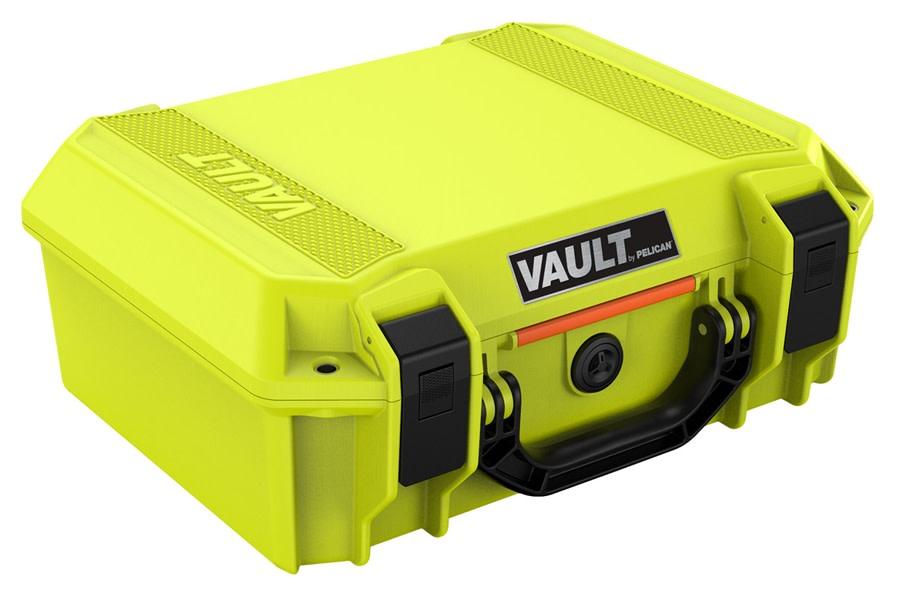 Pelican V200C Vault Medium Equipment Case w/ Foam Insert - Bright Green