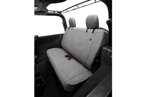 Bestop Rear Seat Covers, Charcoal - JL 2Dr